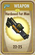 FoS Hardened Fat Man Card