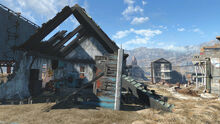 Rachel ruined house Bradberton