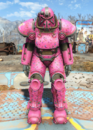 T-51 power armor Slocum's Joe pink paint