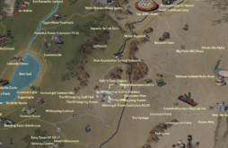 The Whitespring Service Entrance map.png
