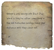 Torn letter HalluciGen