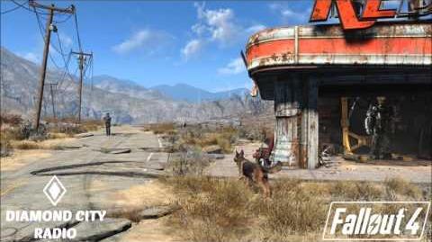 (Fallout 4) Radio Diamond City - Orange Colored Sky - Nat King Cole