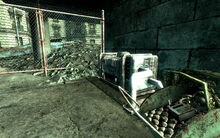 FO3 Pennsylvania Ave baby carriage trap