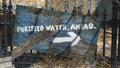 FO4 East Boston Preparatory School purified water