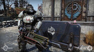 FO76SD Power Armor Fort Atlas