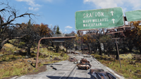 FO76 211020 Grafton highway sign