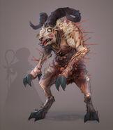 FO76 Chris Ortega concept (The SheepSquatch Monster) (11)