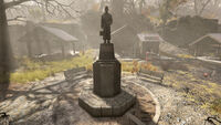FO76 the Dedication to Coal Miners in Beckley
