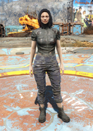 Fo4 Torn Shirt and Ragged Pants female