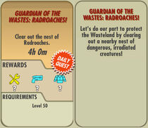 FoS Guardian of the Wastes Radroaches! card