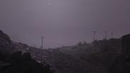 FO76 Ash Heap truck ash storm