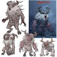 FO76 Chris Ortega concept (The SheepSquatch Monster) (9)