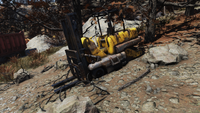 FO76 Forklift yellow variant