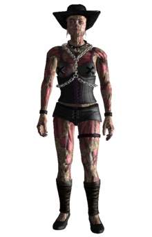 Beatrix Russell chained prostitute outfit.png