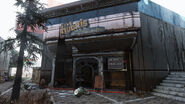 FO76 Watoga Shopping Plaza (Hubris Comics and Toys)