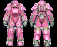 FO4CC T-45 power armor Slocum's Joe pink.png
