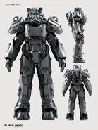 FO4 Art T-60 power armor 3