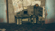 FO76 Raleigh Clay's bunker (Raleigh's Terminal)