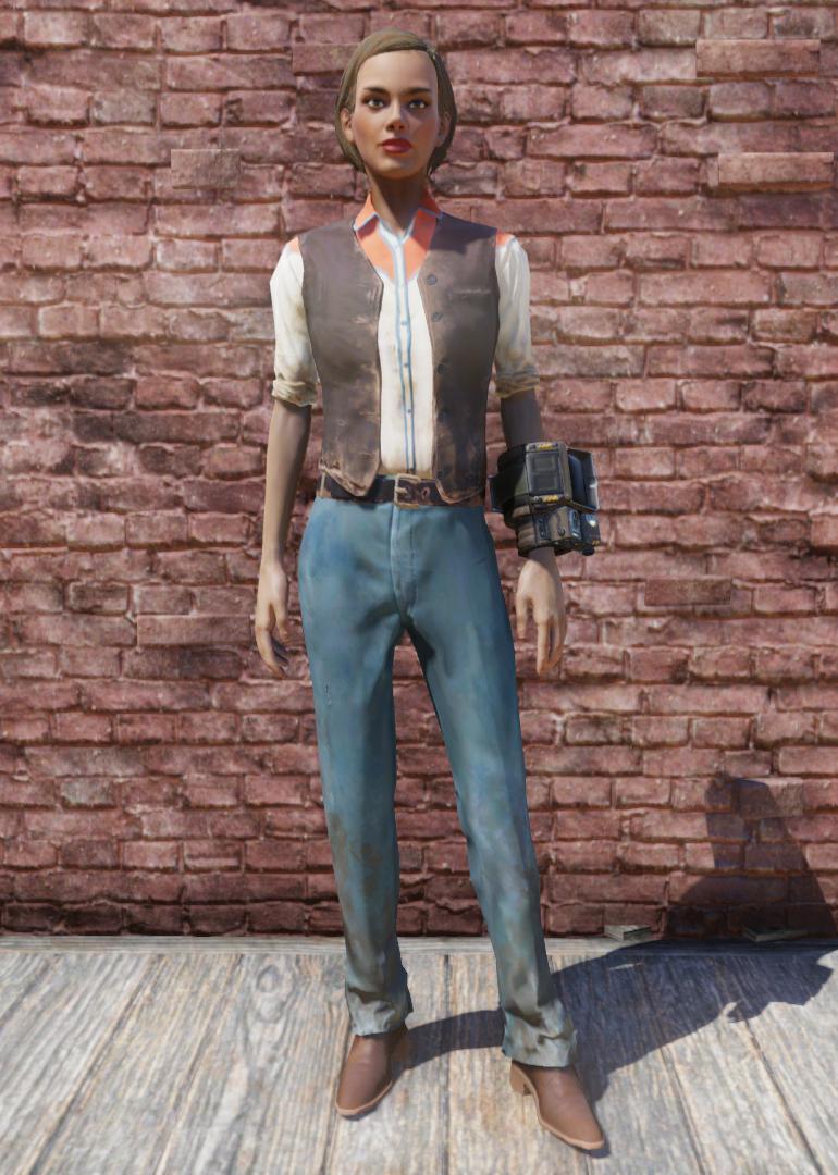 Western Outfit Fallout 76 Fallout Wiki Fandom