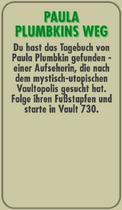 FOS - Questkarte - Reise zum Mittelpunkt von Vaultopolis - 1 - Paula Plumbkins Weg - Hinten