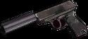 .22 autoloader silencer hand