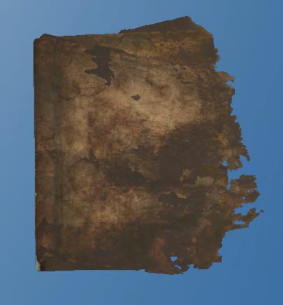Burnt comic (Fallout 76)