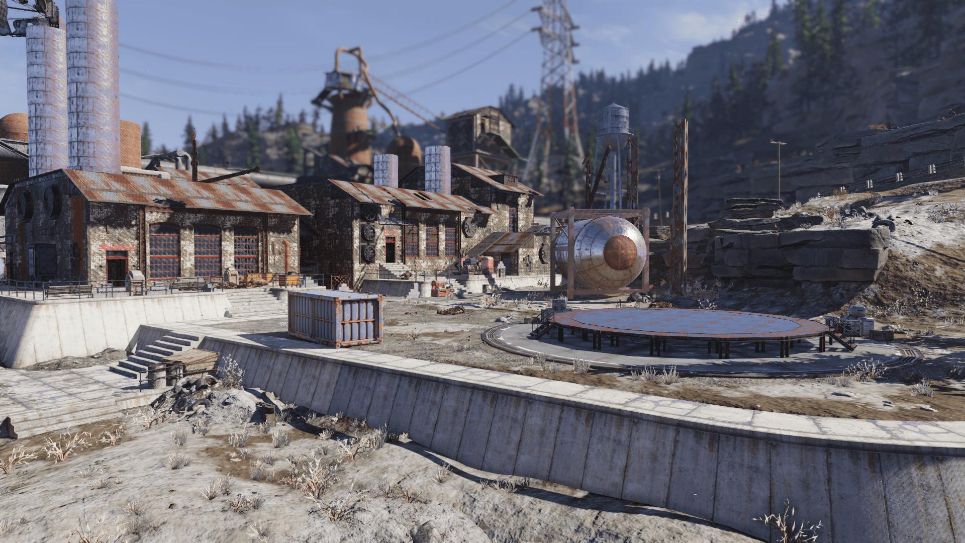 Grafton Steel yard