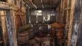 Cabaña del fabricante de licores interior 2