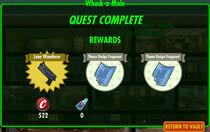 FoS Whack-a-Mole rewards