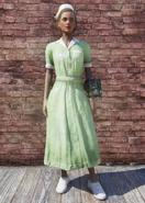 FO76 Asylum Worker Uniform Green