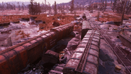 FO76 Flooded train new 1
