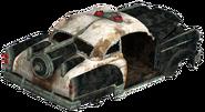 FNV Patrol Car rear
