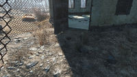 FO4 National Guard training yard mine