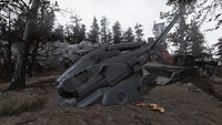 FO76 Vertibot Central Mountain Lookout