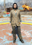 Fo4Patched Three-Piece Suit