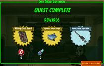 FoS One Ghoul Customer rewards