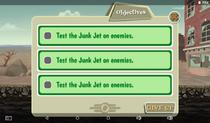 Secret Weapon Testing Objectives