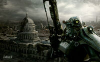 BoS soldier Capitol building