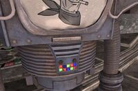 FNV Victor HH tools nameplate