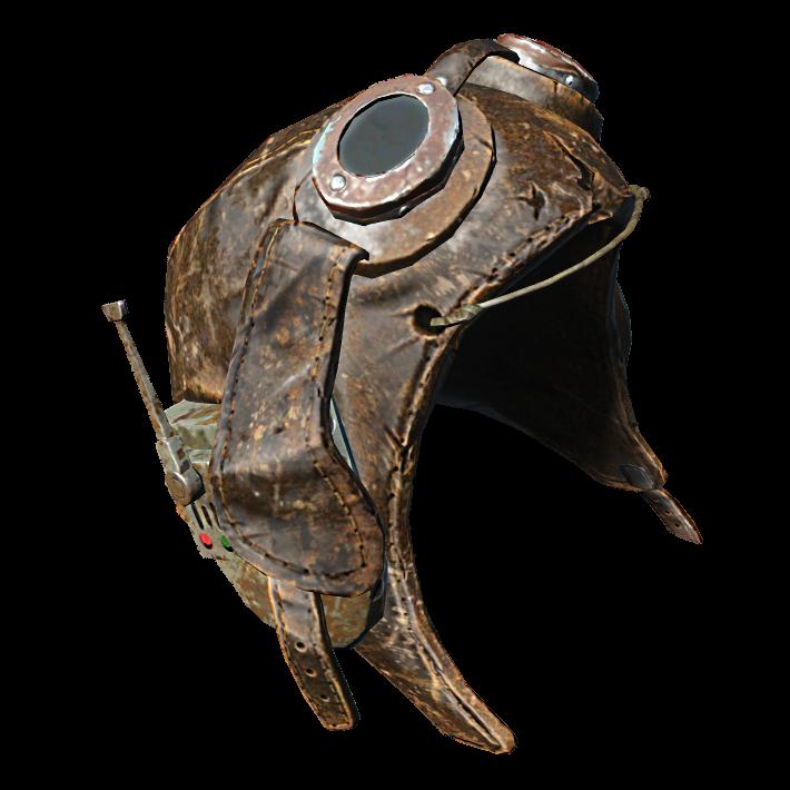 Лётный шлем супермутанта
