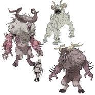 FO76 Chris Ortega concept (The SheepSquatch Monster) (6)