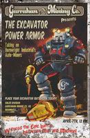 FO76 Miner Excavator Poster