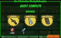 FoS Duo of Destruction Glowing Radscorpions rewards