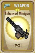 FoS Enhanced Minigun Card