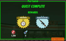 FoS Pest Control rewards