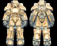 FO4CC T-45 power armor desert camo