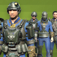 FO4 CC - Armor paint job Army.png