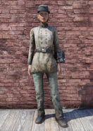 FO76 Confederate Uniform with Hat