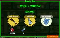 FoS Bounty Yak rewards