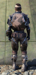 Forest scout armor back